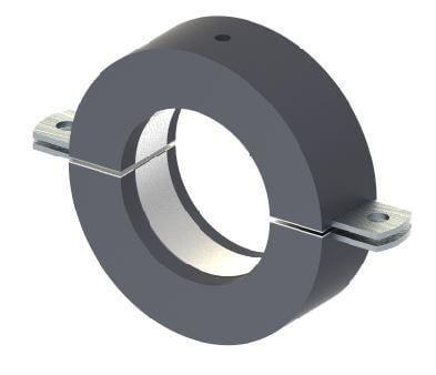Low temperature pipe clamp Type 170/170 plus