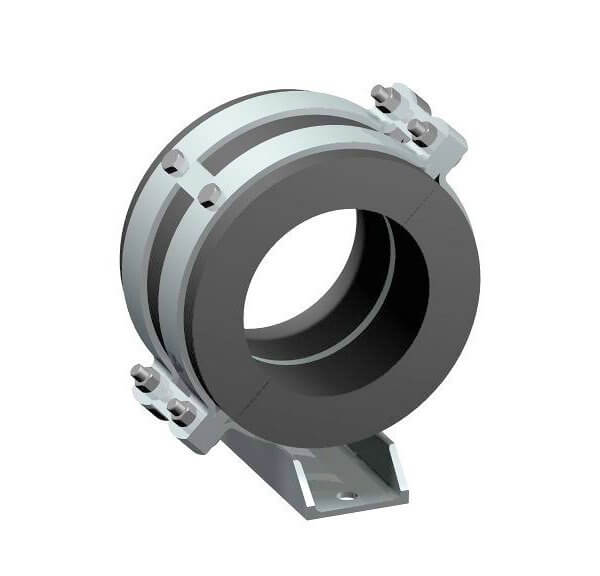 Low temperature fixed point pipe clamp Type 173 F