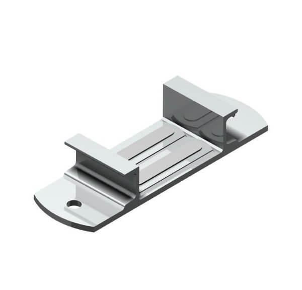 Screw on glide plate Type 302 SF