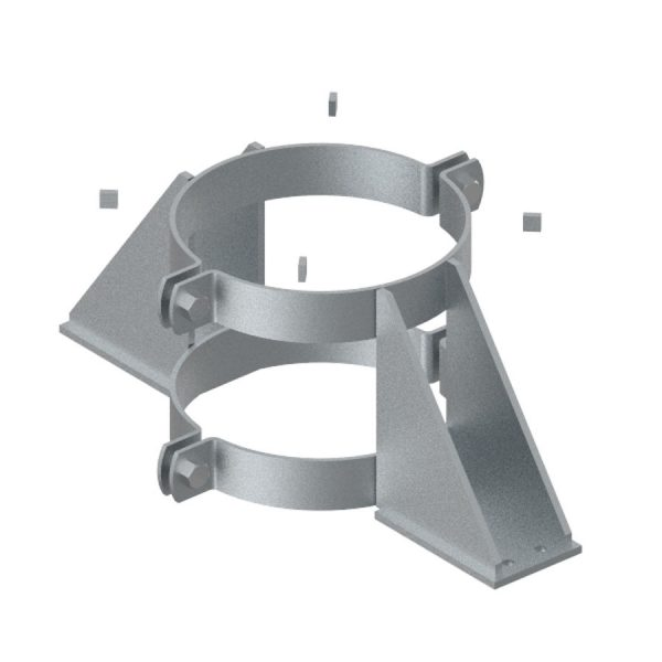 Fixed point pipe clamp Type 117 V